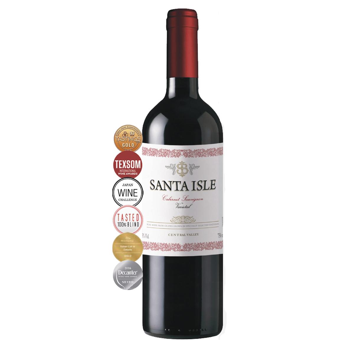 智利中央山谷圣艾爾斯赤霞珠干紅葡萄酒紅酒