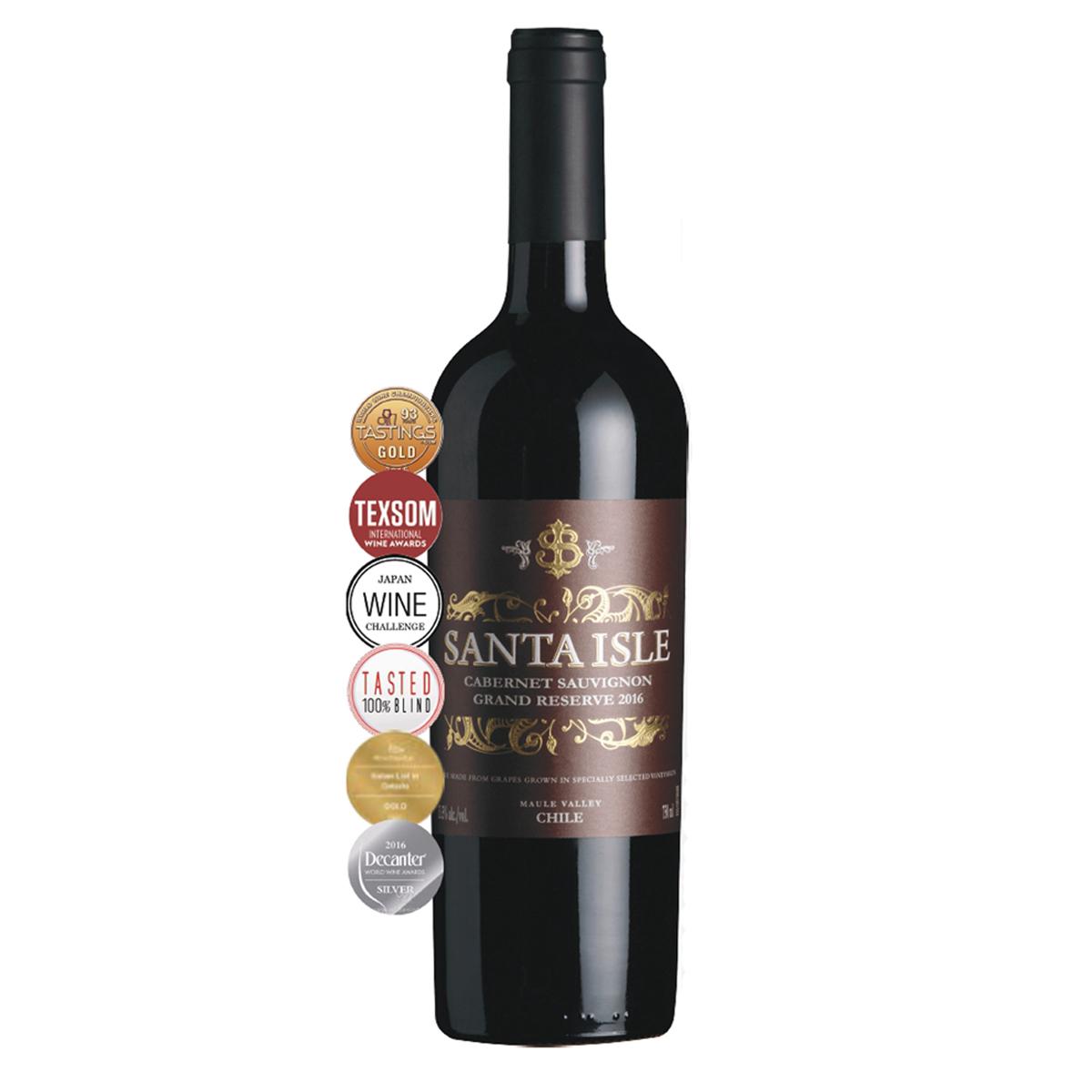 智利莫萊谷圣艾爾斯赤霞珠特級珍藏級干紅葡萄酒紅酒