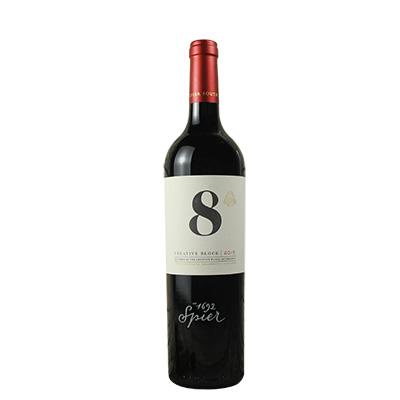 南非斯泰倫博斯斯皮爾酒莊創意區間系列8號干紅葡萄酒紅酒