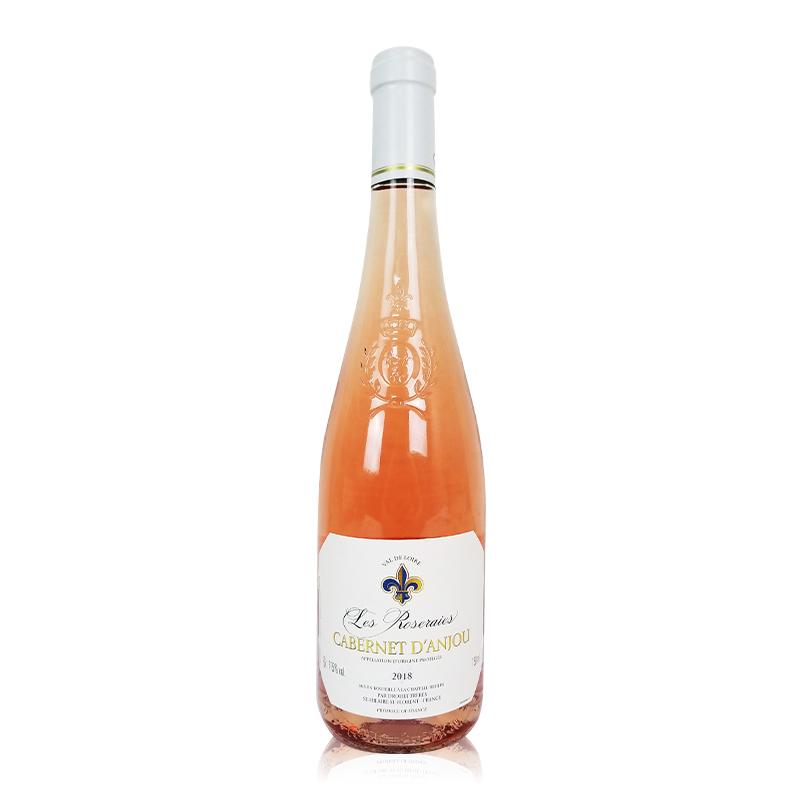 玫瑰園安茹桃紅葡萄酒
