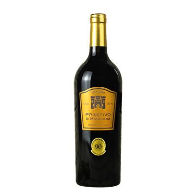 意大利曼杜里亞普里米蒂沃紅葡萄酒