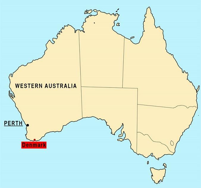 西澳大利亚丹麦