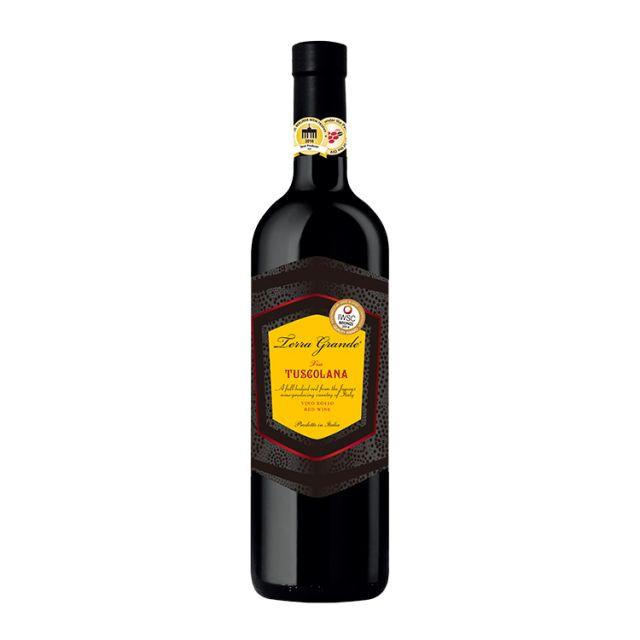 意大利普罗温科酒庄托斯卡纳黄标红葡萄酒