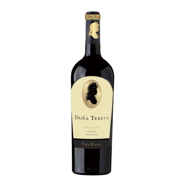 智利中央山谷灵坡酒庄特蕾莎珍藏赤霞珠红葡萄酒