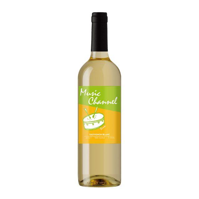 智利中央山谷七彩酒庄音频长相思白葡萄酒