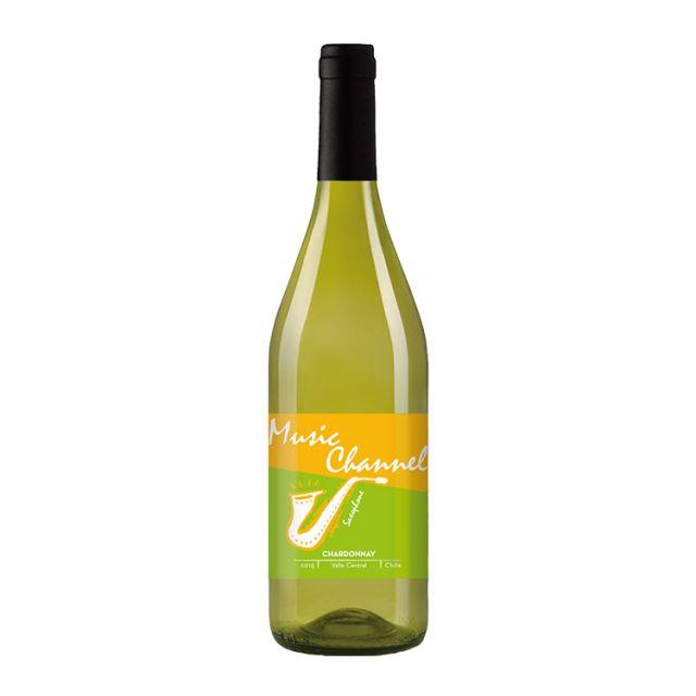 智利中央山谷七彩酒庄音频霞多丽白葡萄酒
