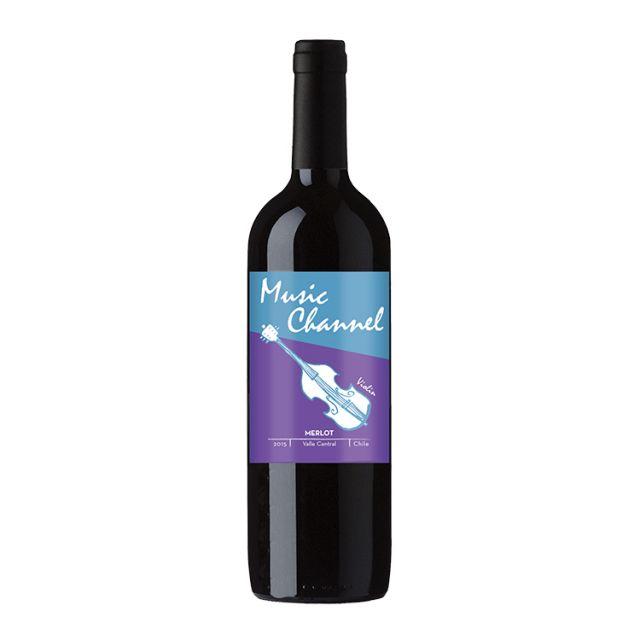 智利中央山谷七彩酒庄音频梅洛红葡萄酒