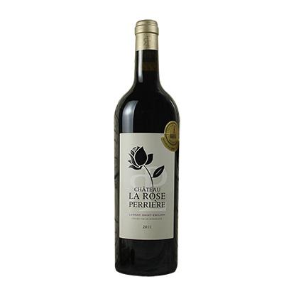 法国波尔多圣埃美隆爱玫瑰城堡干红葡萄酒(2011)
