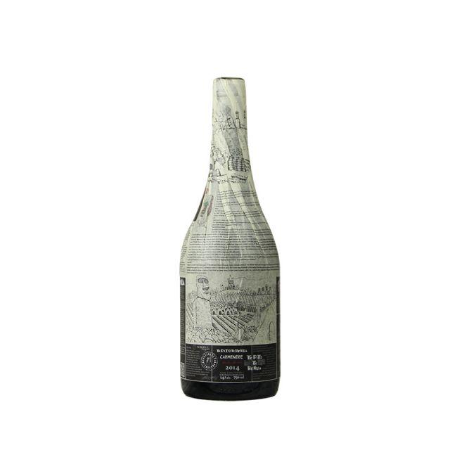 智利空加瓜谷NERKIHUE特皮佳美娜至尊干红葡萄酒