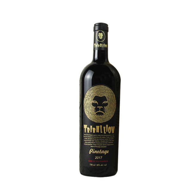 南非皮肯涅克鲁夫历堡酒庄部落金狮品诺塔吉干红葡萄酒