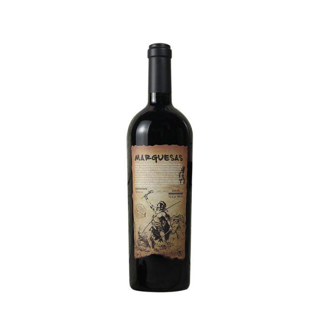 智利空加瓜谷NERKIHUE马克萨斯佳美娜窖藏干红葡萄酒