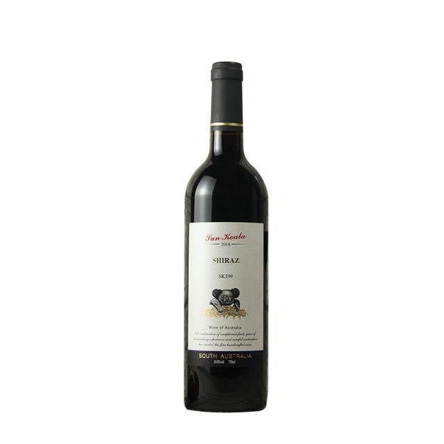 澳大利亞南澳陽光考拉SK399西拉干紅葡萄酒
