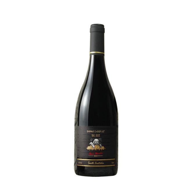 澳大利亞南澳陽光考拉SK666西拉赤霞珠干紅葡萄酒
