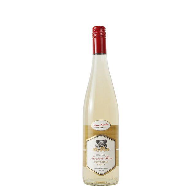 澳大利亚南澳阳光考拉LOVE520莫斯卡托起泡酒
