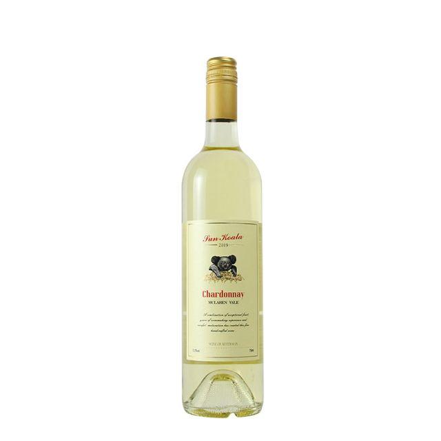 澳大利亚麦克拉伦谷产区阳光考拉霞多丽干白葡萄酒