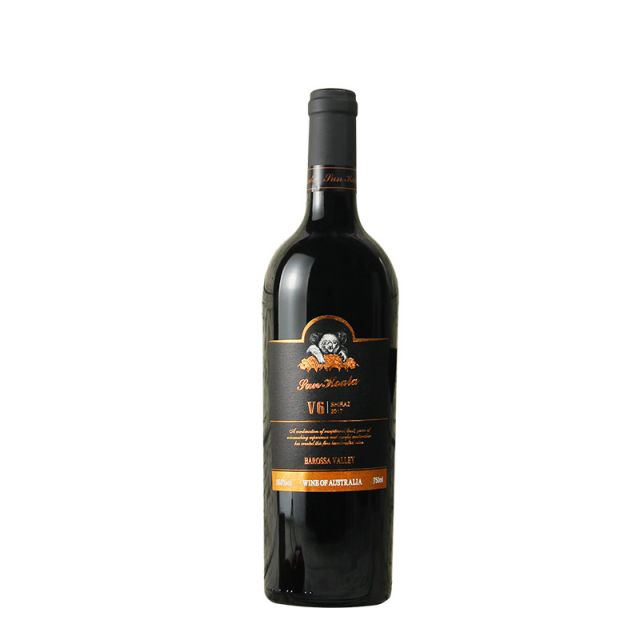 澳大利亞巴羅薩山谷陽光考拉V6百年老藤西拉干紅葡萄酒