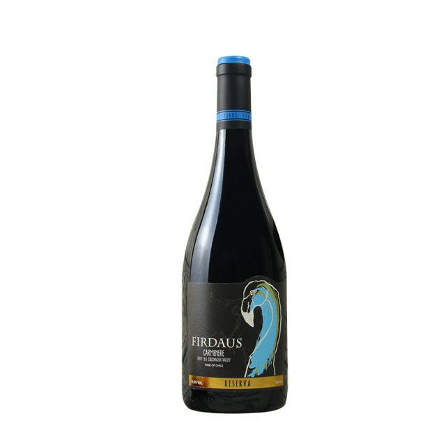 智利空加瓜谷菲尔道斯佳美娜珍藏干红葡萄酒