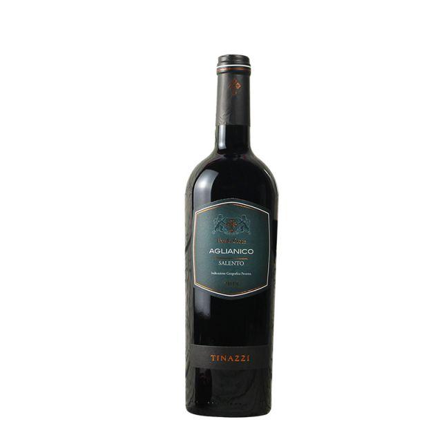 意大利普里亚Tinazzi亚格丽安尼克干红葡萄酒