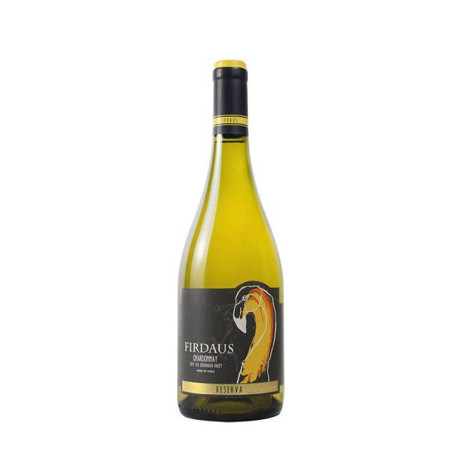 智利空加瓜谷菲尔道斯霞多丽珍藏干白葡萄酒