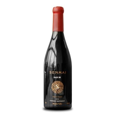 澳大利亚巴罗萨山谷澳洲大陆酒庄森脉SEN95赤霞珠干红葡萄酒