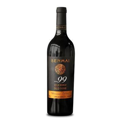澳大利亚巴罗萨山谷澳洲大陆酒庄森脉SEN99西拉干红葡萄酒