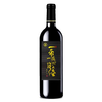 澳大利亚南澳产区澳洲大陆酒庄西拉一带一路特供版干红葡萄酒