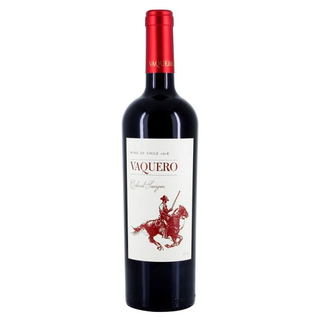 智利中央山谷骑士维卡罗精选赤霞珠干红葡萄酒红酒