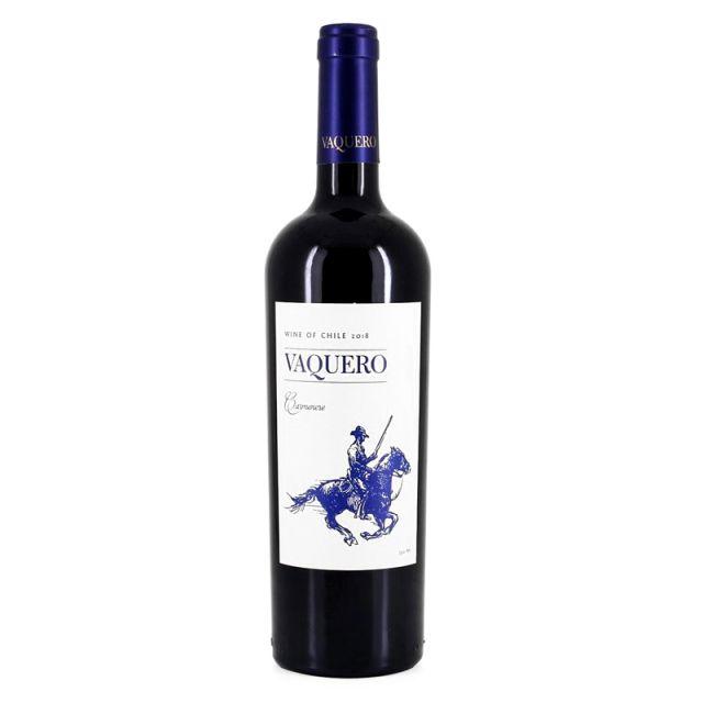 智利中央山谷骑士维卡罗精选佳美娜干红葡萄酒红酒