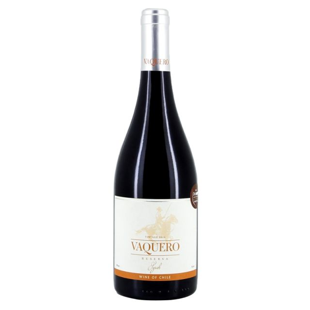 智利莫莱谷骑士维卡罗珍藏西拉干红葡萄酒红酒
