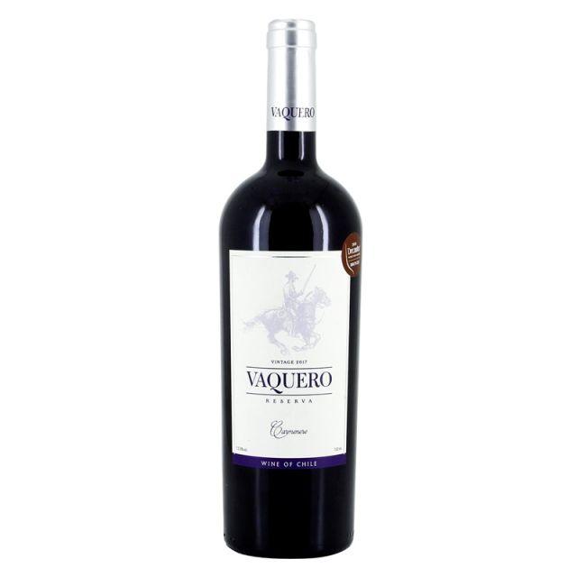 智利莫莱谷骑士维卡罗珍藏佳美娜干红葡萄酒红酒