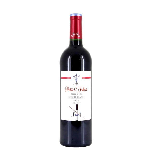 法国白羽·地中海红葡萄酒红酒