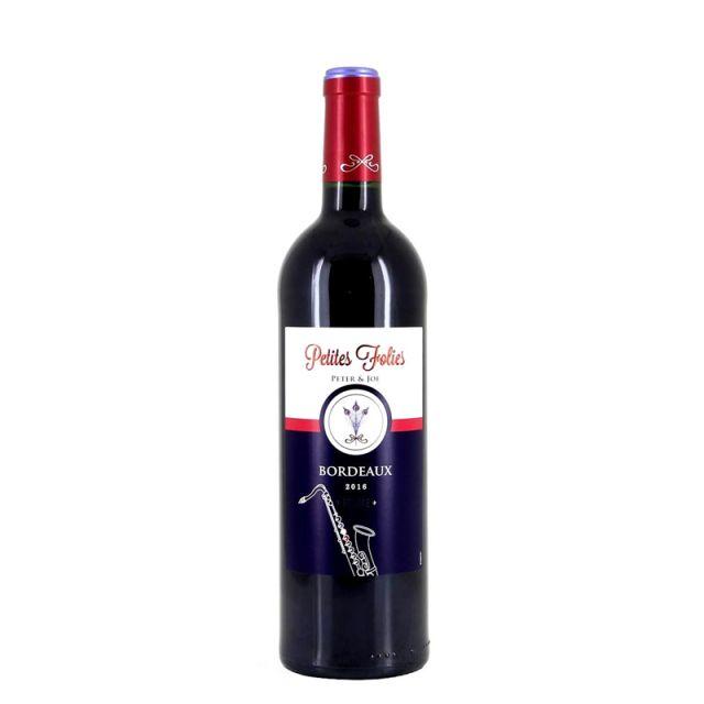 法国白羽·波尔多红葡萄酒红酒