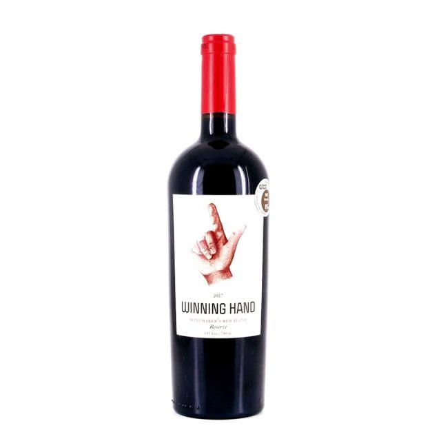 智利库里科谷凯旋之手酿酒师珍藏半甜红葡萄酒红酒
