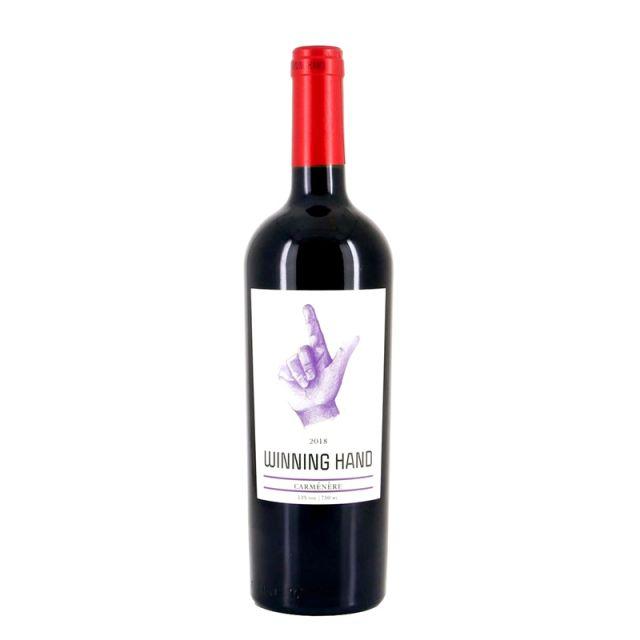 智利库里科谷凯旋之手精选佳美娜干红葡萄酒红酒