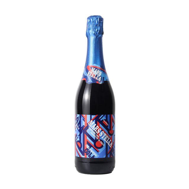 意大利皮埃蒙特万多酒庄火星可乐起泡葡萄鸡尾酒