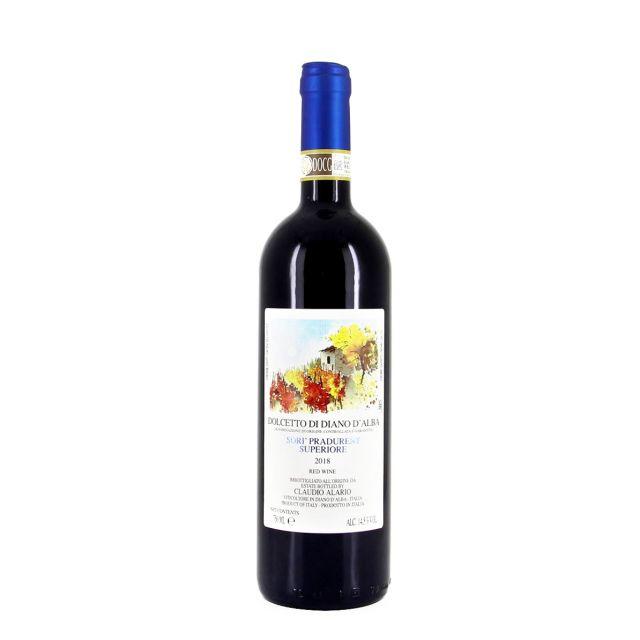 意大利皮埃蒙特多切托高级红葡萄酒红酒