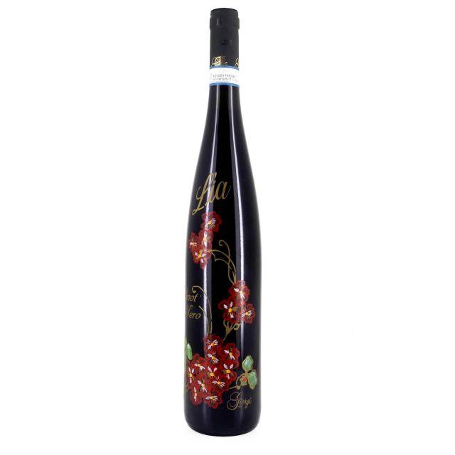 意大利伦巴第莉莉亚黑皮诺红葡萄酒红酒