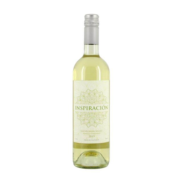 智利空加瓜谷灵感单一园长相思白葡萄酒
