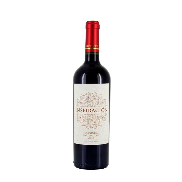 智利空加瓜谷灵感单一园赤霞珠红葡萄酒红酒