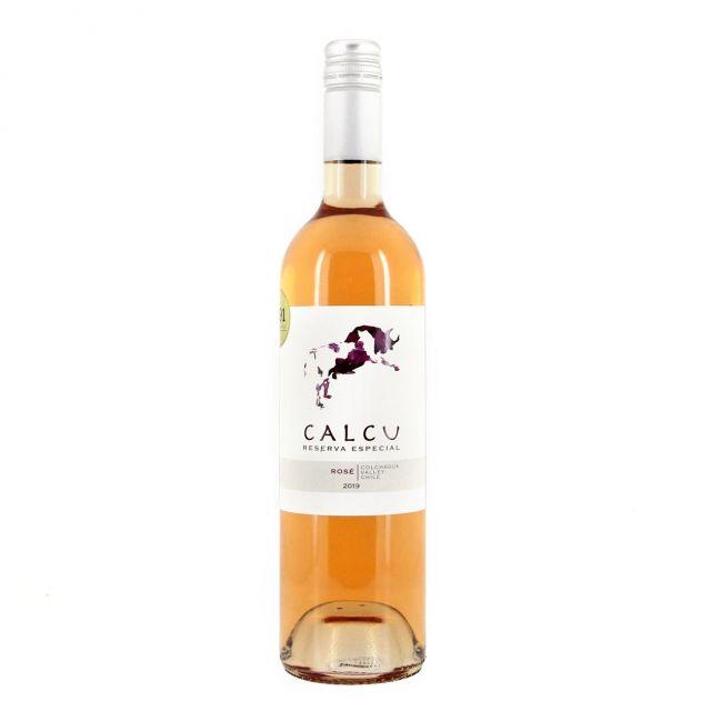 智利空加瓜谷家福特藏桃红葡萄酒