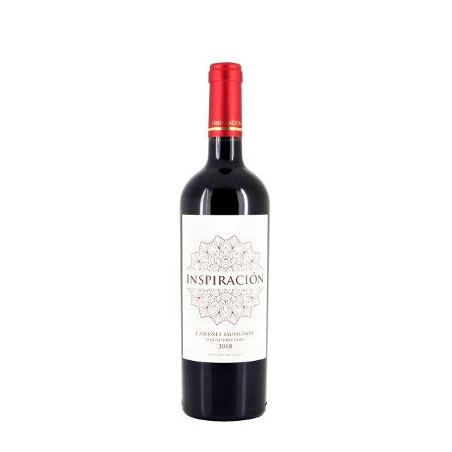 智利空加瓜谷灵感单一园佳美娜红葡萄酒红酒