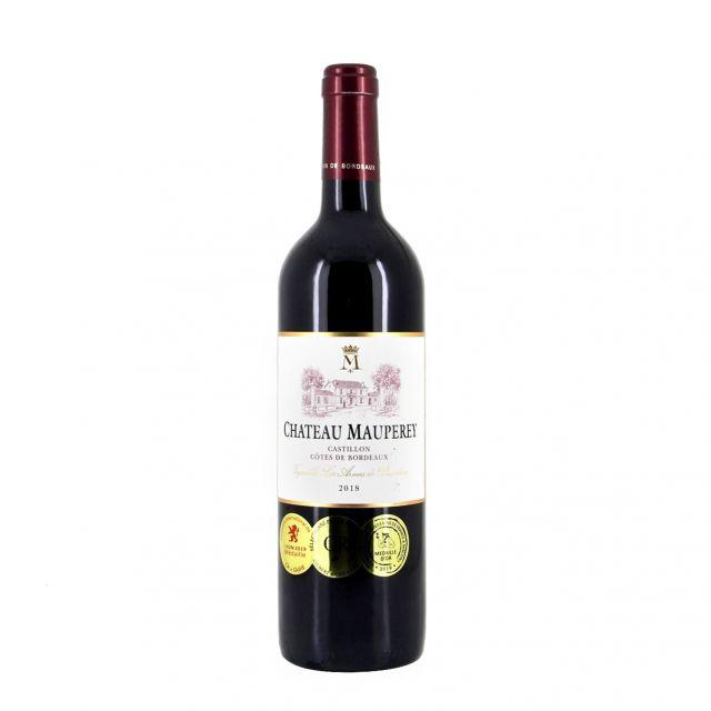 莫佩里城堡红葡萄酒
