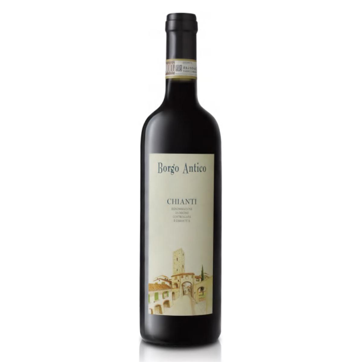 贝加莫基安蒂干红葡萄酒