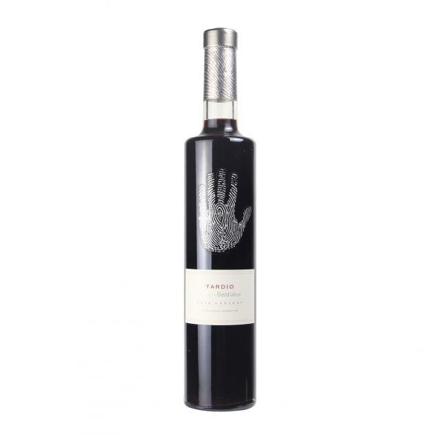 阿根廷门多萨省五味酒庄马尔贝克晚收甜红葡萄酒