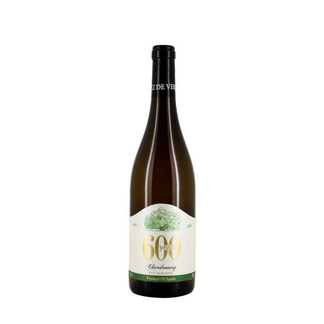 西班牙纳瓦拉萨尔酒庄600年霞多丽白葡萄酒