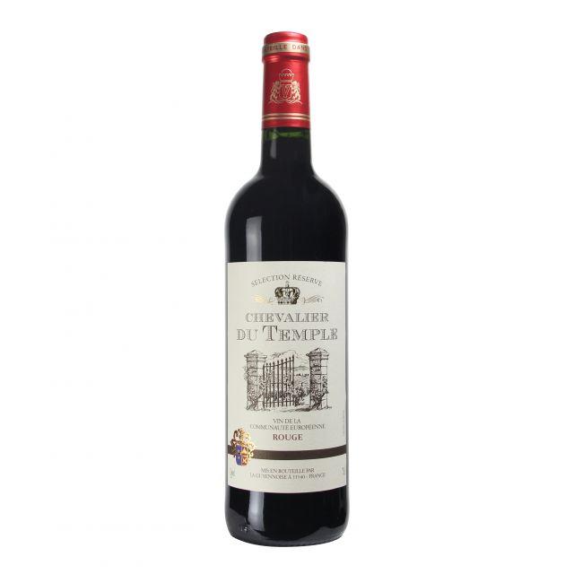 法国朗格多克鲁西荣卡诗勒赤霞珠梅洛珍藏红葡萄酒红酒