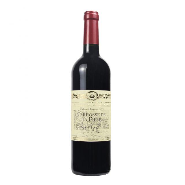 法国朗格多克鲁西荣卡露斯赤霞珠干红葡萄酒红酒