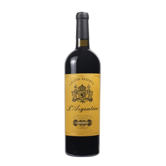 法国圣稀酿法定产区白马安格利干红珍藏版金标红葡萄酒红酒