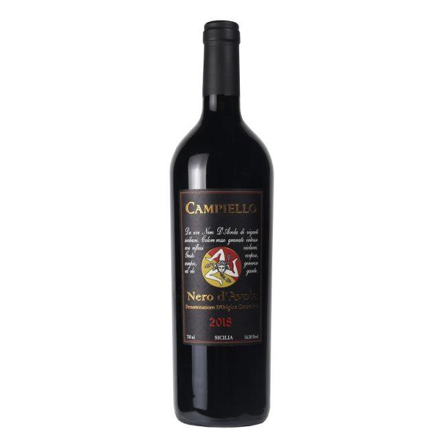 意大利 西西里島坎帕諾拉酒莊康佩羅黑珍珠紅葡萄酒紅酒