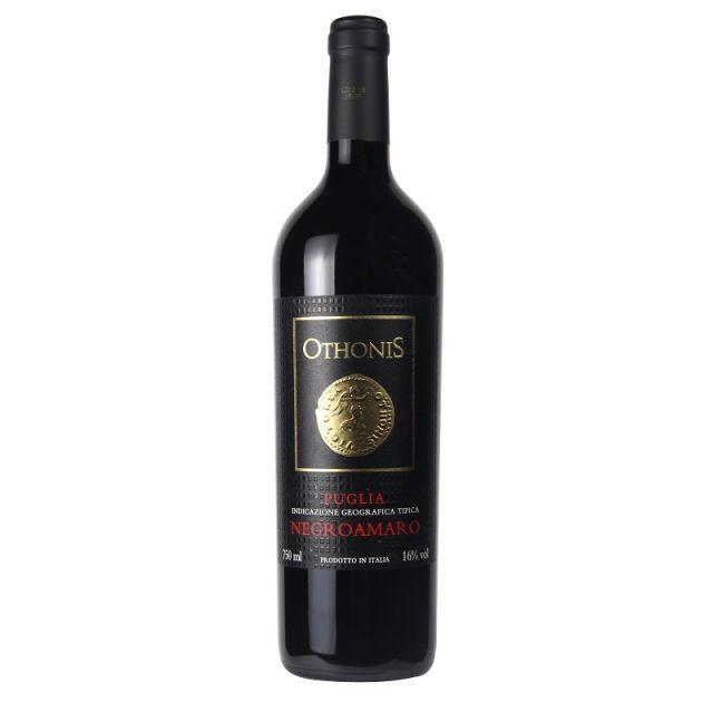 意大利普里亞奧托尼斯黑曼羅紅葡萄酒紅酒